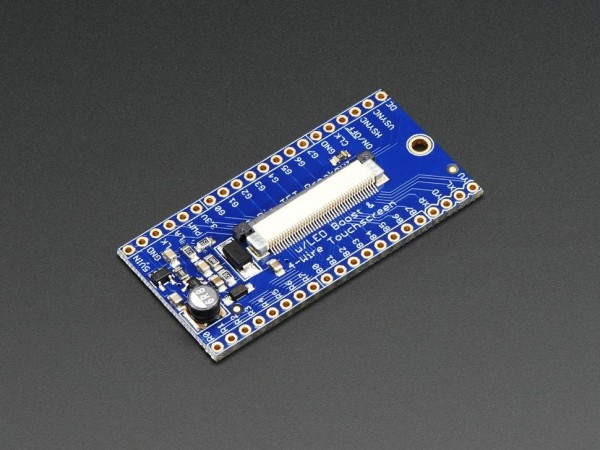 Adafruit 40-pin TFT Friend - FPC Breakout with LED Backlight Driver