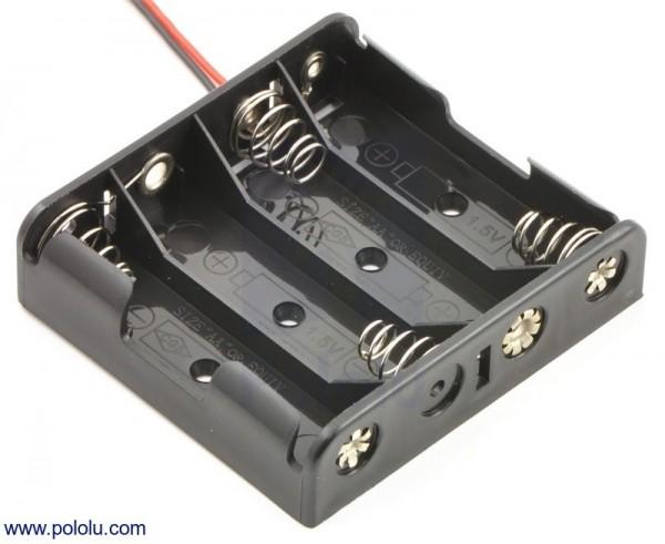 4-AA Battery Holder