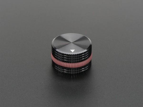 Solid Machined Metal Knob - 25mm Diameter