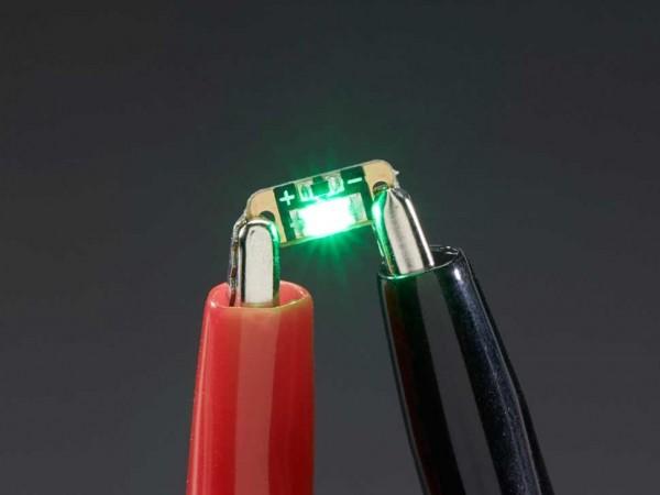 Adafruit LED Sequins - Emerald Green - Pack of 5