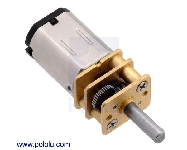 210:1 Micro Metal Gearmotor MP 6V