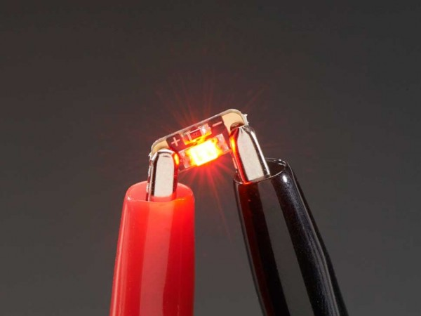 Adafruit LED Sequins - Ruby rot - 5 Stück