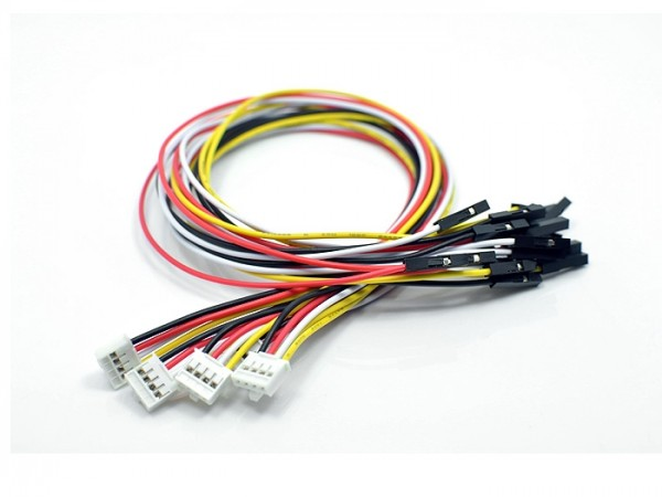 Seeed Studio Grove - 4 pin Female Jumper to Grove 4 pin Conversion Cable (5 PCs per Pack)