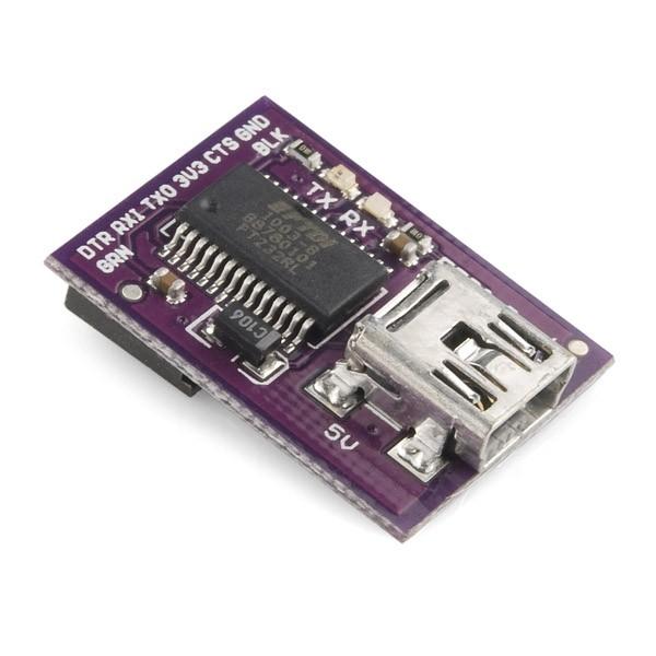 LilyPad FTDI Basic Breakout - 5V DEV-10275