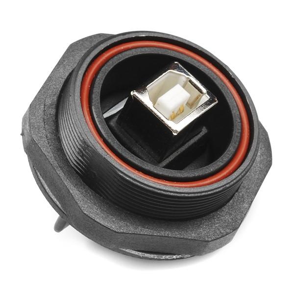 USB Weatherproof Connector - Panel Mount (USB B)