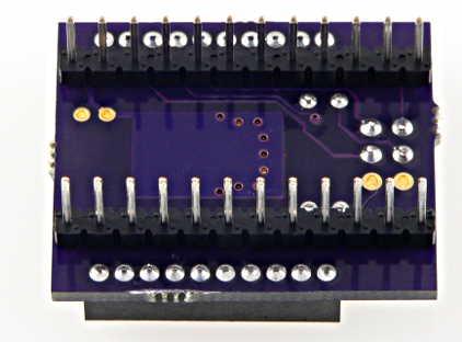 Solder sockets to XBee