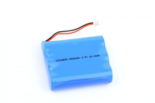 LiPo Akku 6600mAh (3.7 V, 2 mm JST)