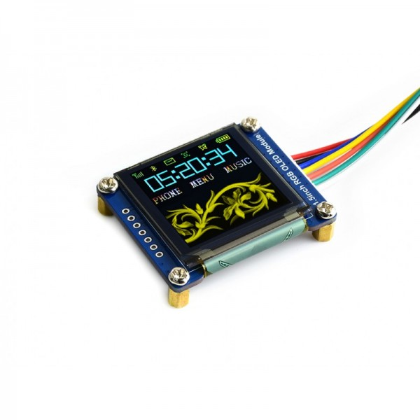 Waveshare 1.5 Inch RGB OLED Display-Modul (128 x 128)