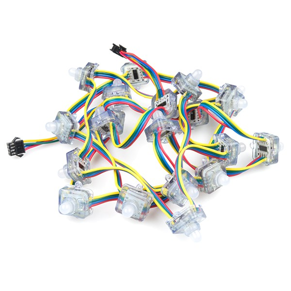 RGB LED Chain - 20 LED Addressable