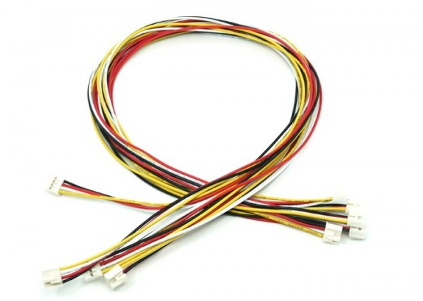 Seeed Studio Grove - Universal 4 Pin Buckled 40cm Cable (5 PCs pack)