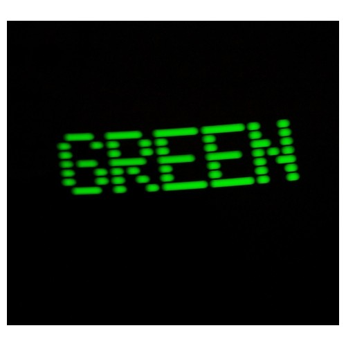 Povard (Green LEDs - Black Bezel) - Kit