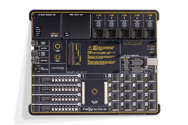Fusion for Tiva v8 with TM4C129XNCZAD