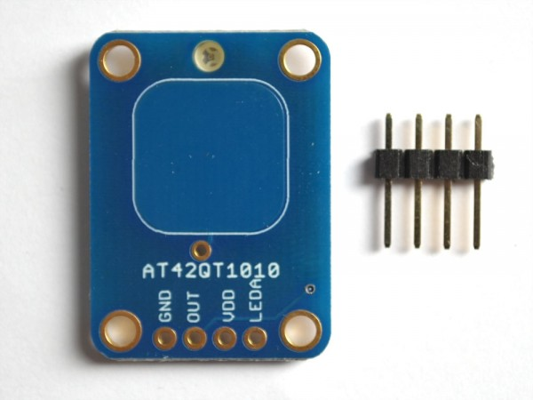 Adafruit Standalone Momentary Capacitive Touch Sensor Breakout - AT42QT1010