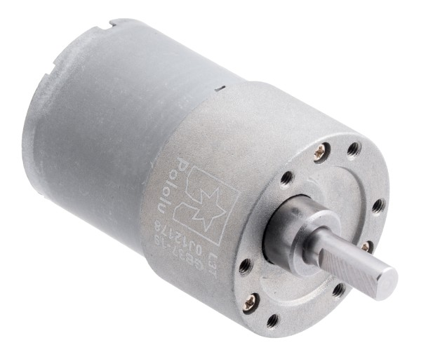 19:1 Metal Gearmotor 37Dx52L mm (Helical Pinion)