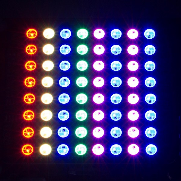 Unicorn Hat 8x8 RGB LED Matrix für Raspberry Pi B+