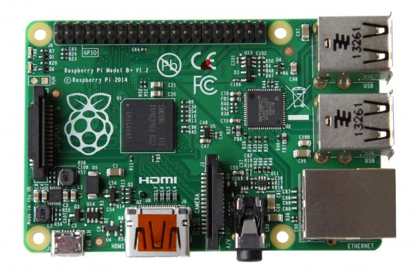 Raspberry Pi Modell B+ 512MB