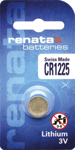 renata CR1225 3V Lithium-Knopfzelle
