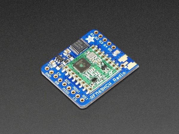 Adafruit RFM69HCW Transceiver Radio Breakout - 868 or 915 MHz