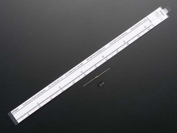 "12"" Chemical eTape Liquid Level Sensor with Teflon"