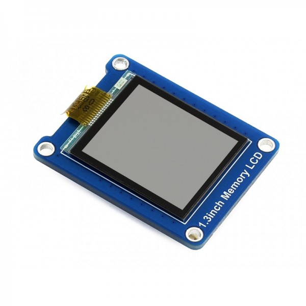 "144x168 1.3"" Bicolor LCD with Embedded Memory"