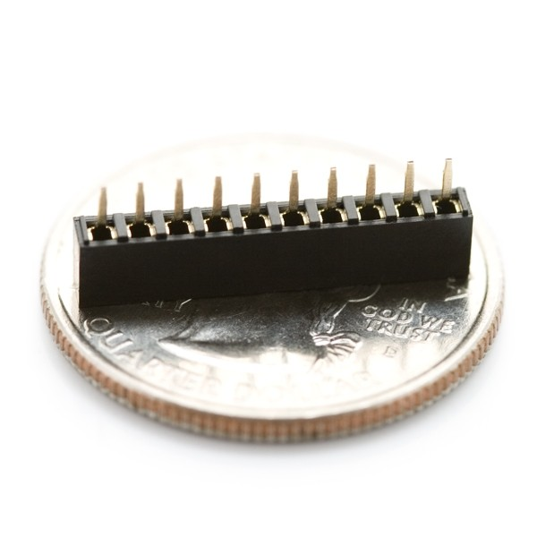 Sparkfun 2mm 10pin XBee Socket (10er Pack)
