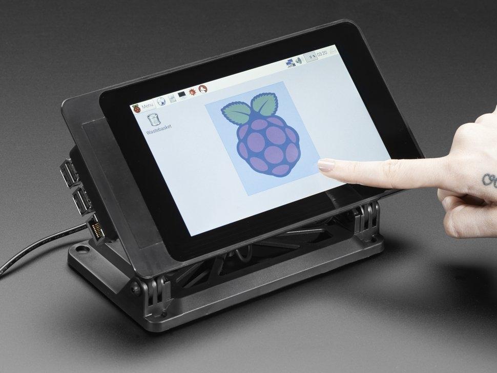 SmartiPi Touch - Gehäuse für das Raspberry Pi 7 ...