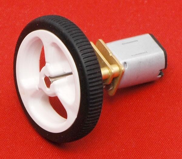 Pololu Wheel 32x7mm Pair - White