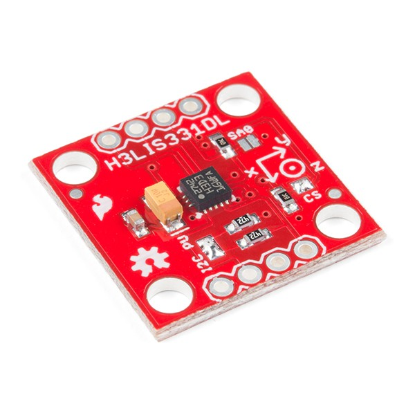 SparkFun Triple Axis Accelerometer H3LIS331DL