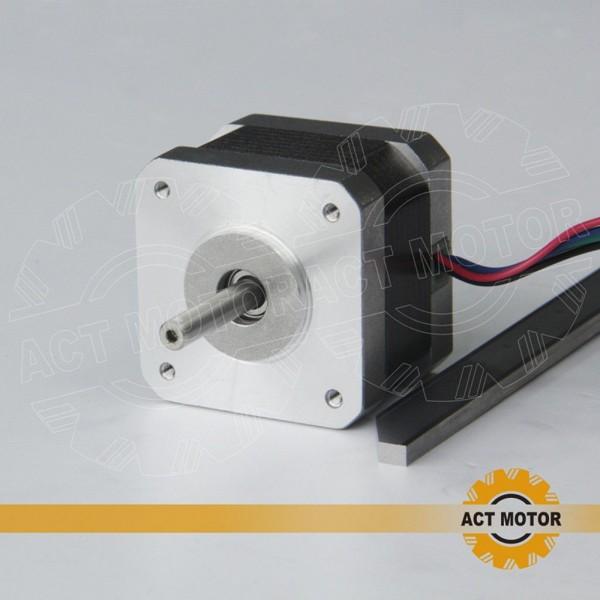 Stepper motor Nema 17 (bipolar, 200 steps, 12 V DC, 0.4 A) - 17HS3404