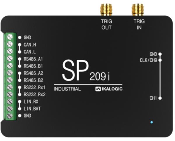 SP209i 9 Channel 200MSPS Logic Analyzer & Protocol Decoder (Industrial)