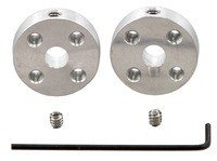 Pololu Universal Aluminum Mounting Hub for 5mm Shaft #4-40 Holes (2-Pack)