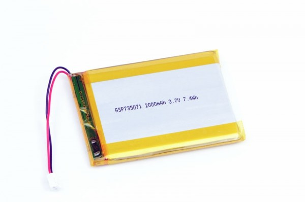 Polymer Lithium Ion Battery 2000mAh
