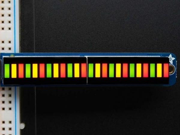 Adafruit Bi-Color (Red/Green) 24-Bar Bargraph w/I2C Backpack Kit