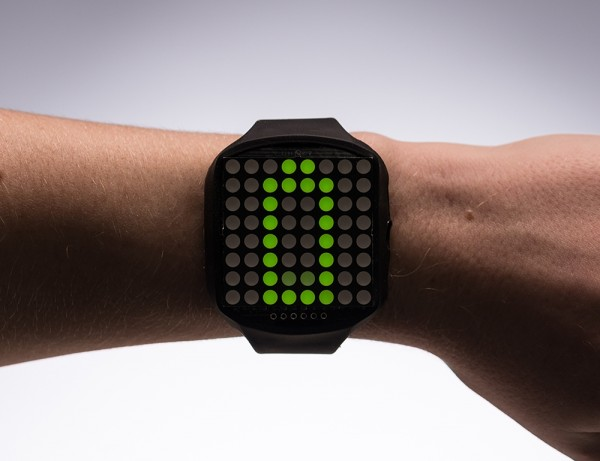 TIMESQUARE DIY Watch Kit - Lime Display Matrix