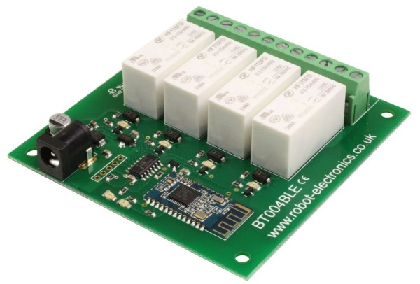 BT004BLE - 4 x 16A Bluetooth Relay