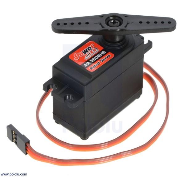 Power HD AR-3606HB - Kontinuierlich drehender Servomotor