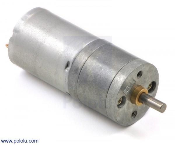 34:1 Getriebemotor 25Dx52L mm HP 6V