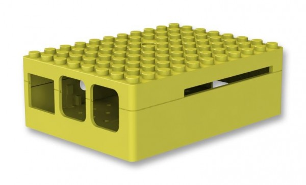 PiBlox Enclosure Yellow for Pi 2 / Pi 3
