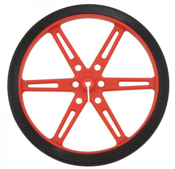 Pololu Wheel 80x10mm Pair - Red