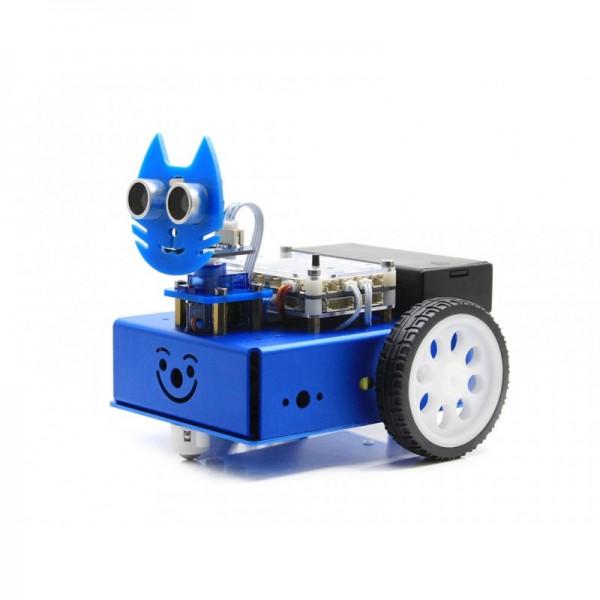 KitiBot Starter-Roboter mit grafischer Programmierung (2WD Version)