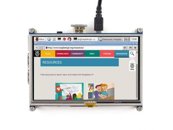 5 inch HDMI LCD 800×480