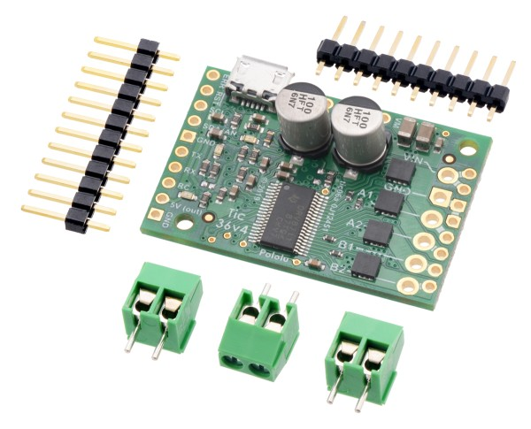 Pololu Tic 36v4 USB Multi-Interface High-Power Stepper Motor Controller