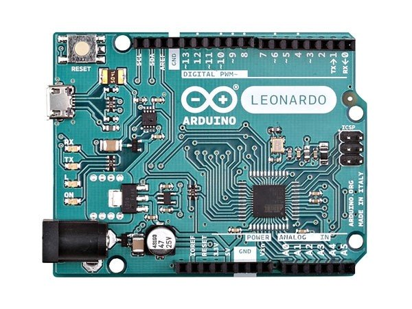 Arduino Leonardo mit Pin Headers