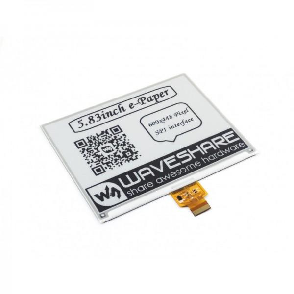"Waveshare 5.83"" E-Ink raw display 600x448"