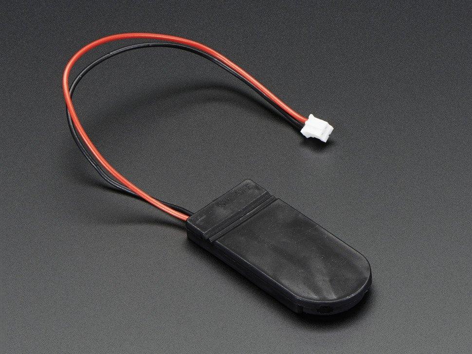 Knopfzellen Batteriehalter 2x Cr2032 Mit 6 V Ausgang Und