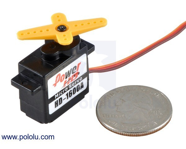 Power HD Micro Servo HD-1600A