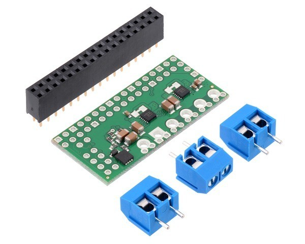 Pololu Dual MAX14870 Motortreiber für Raspberry Pi (Kit)