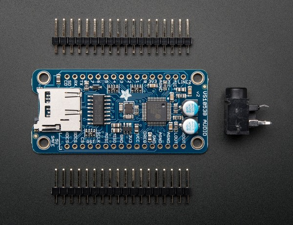 Adafruit VS1053 Codec + MicroSD Breakout - MP3/WAV/MIDI/OGG Play + Record - v4