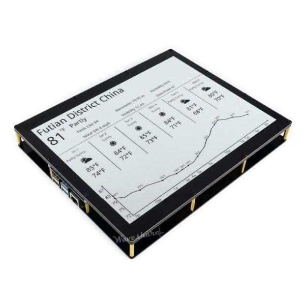"1304×984, 12.48"" E-Ink display module, black/white dual-color"
