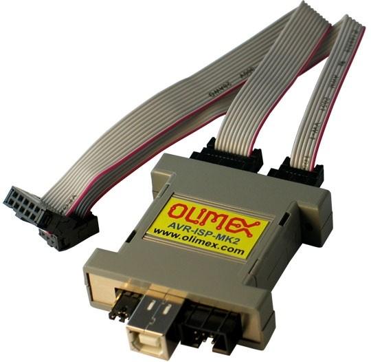 AVR-ISP-MK2 - USB AVR ISP MKII compatible AVR programmer with ICSP PDI TPI support